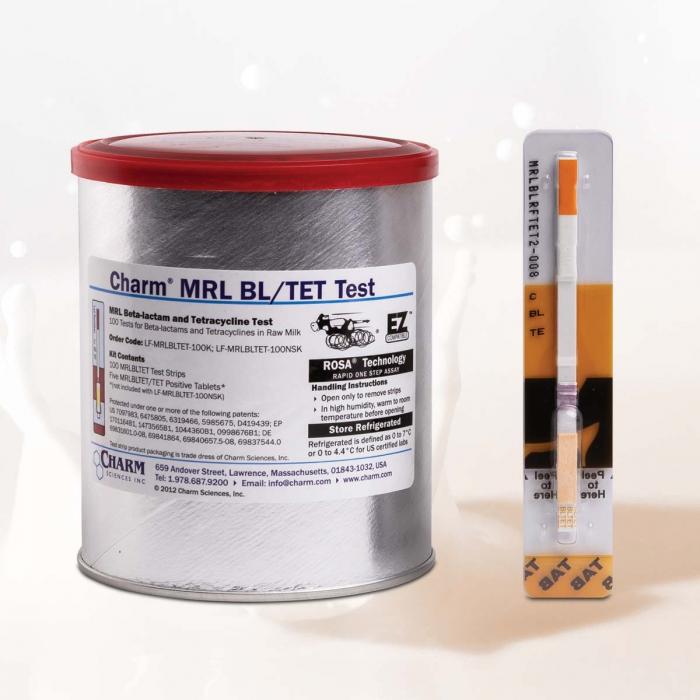 CHARM MRL Betalattamici/Tetracicline Federazioni Russe Test 2'
