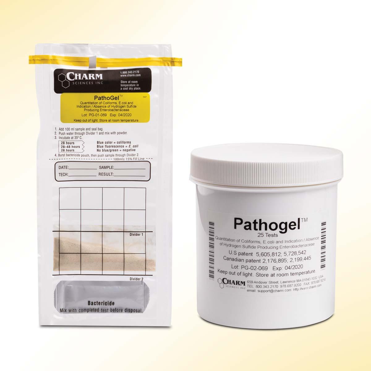 Charm Pathogel test: Test Quantitativo per Coliformi, E.Coli e Qualitativo per Enterobacteriaceae