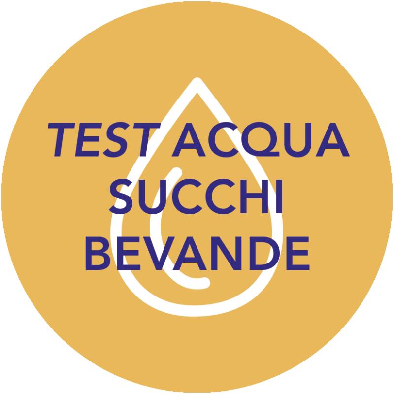 TEST ACQUA SUCCHI BEVANDE
