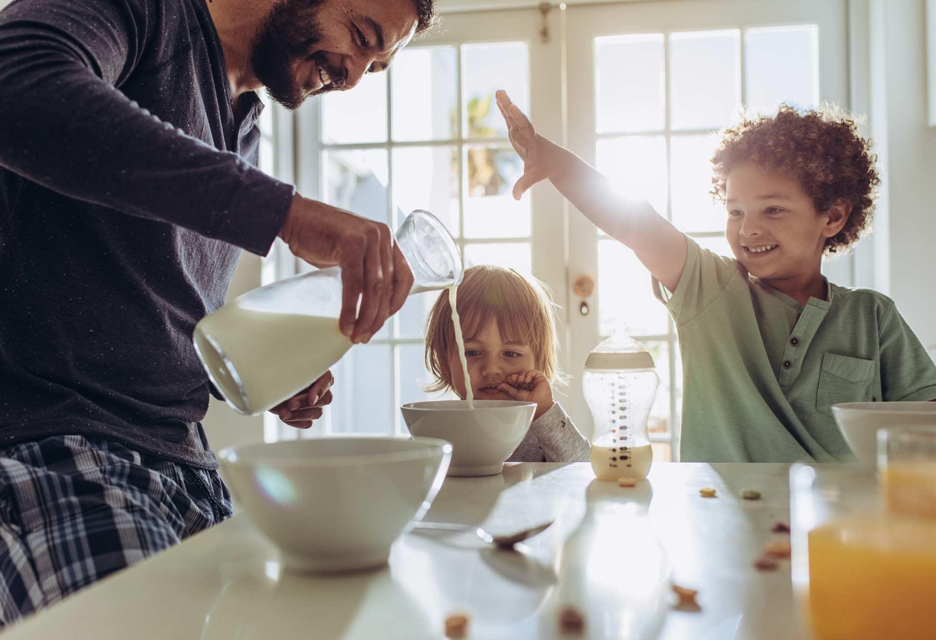 Alitest - colazione latte